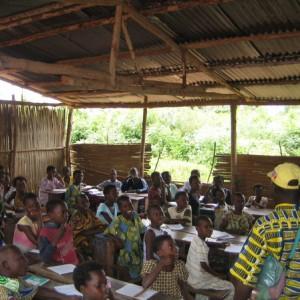 Schule in Benin
