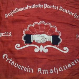 Traditionsfahne des Ortsvereins-1