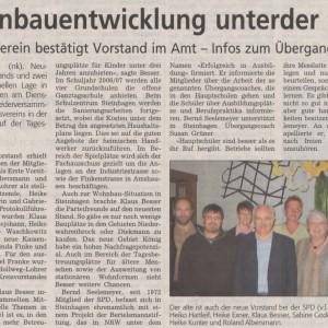 Westfalenblatt 28.4.2006